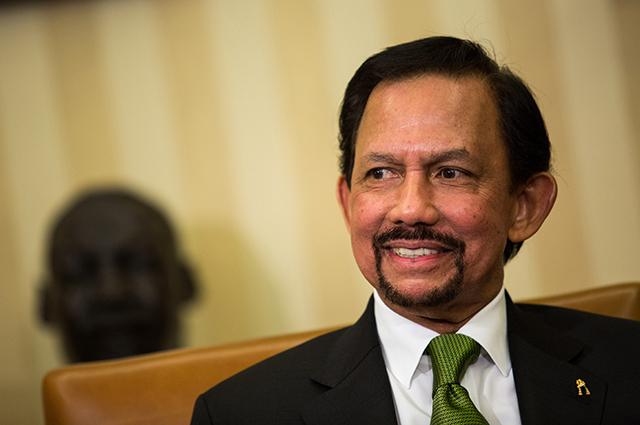 Султан Брунея Хассанал Болкиах