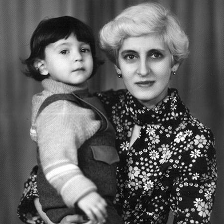 Владимир Зеленский с мамой