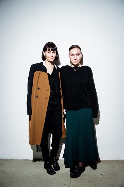 Татьяна Долматовская и Дарья Екамасова