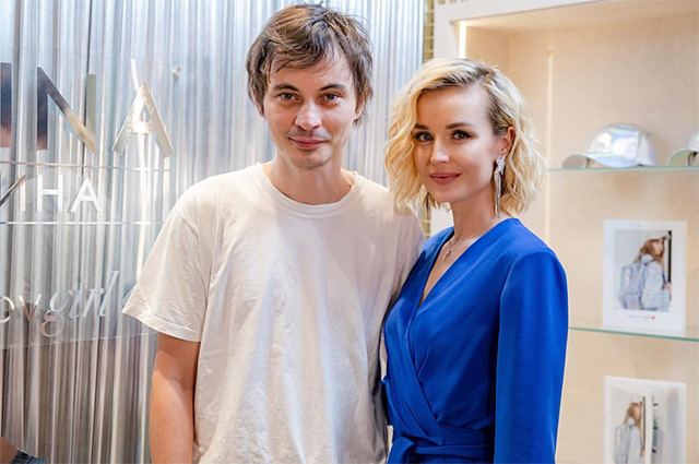 Александр Терехов и Полина Гагарина