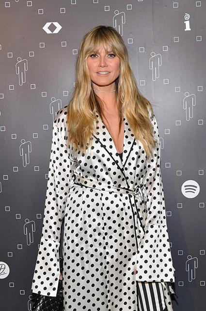 Хайди Клум посетила вечеринку в Лос-Анджелесе