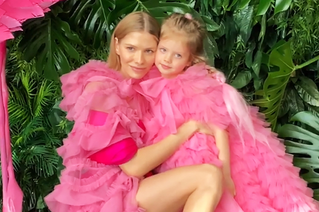 Елена Перминова отметила пятилетие дочери в стиле