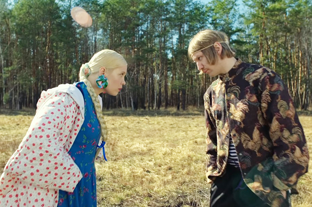 "Тина Кузнецова и Иван Дорн в клипе на песню ""Мужа дома нету"""