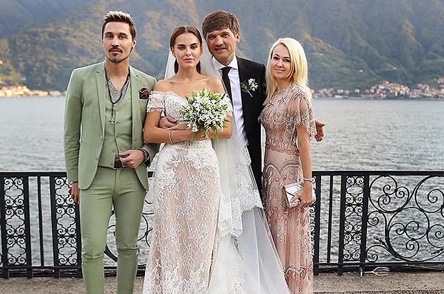 Дарья Клюкина сыграла свадьбу в Италии: платье невесты, звездные гости и другие подробности