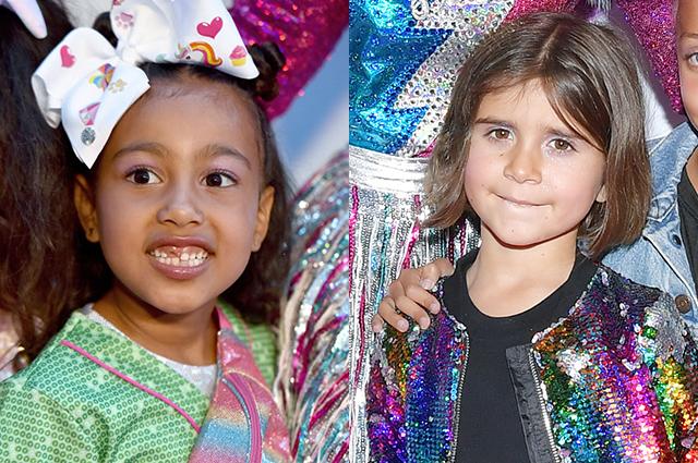 Маленькие женщины: дочери Ким и Кортни Кардашьян стали звездами на красной дорожке