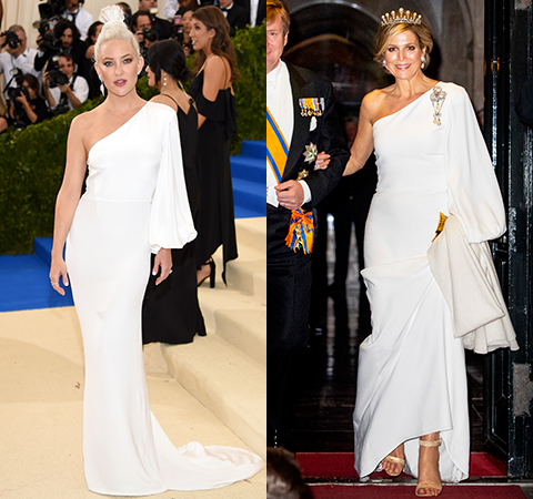 Битва платьев: Кейт Хадсон против королевы Максимы