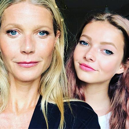 Гвинет Пэлтроу с дочерью