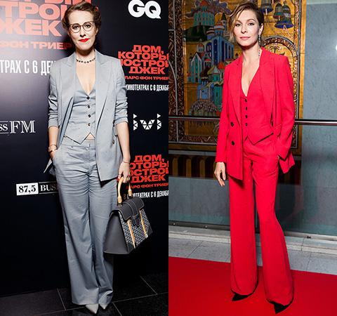 Модная битва: Ксения Собчак против Елены Подкаминской