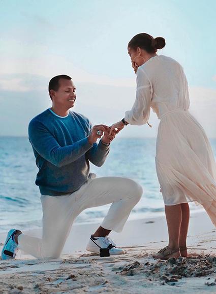 Алекс Родригес о помолвке с Дженнифер Лопес: «Я репетировал — вставал на одно колено перед ассистентом»