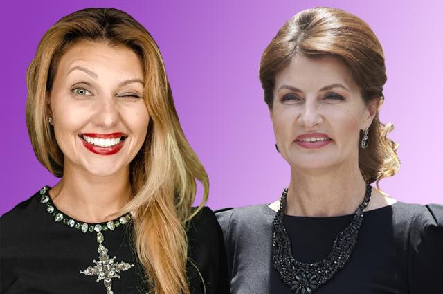 Кто станет первой леди Украины: Марина Порошенко или Елена Зеленская?