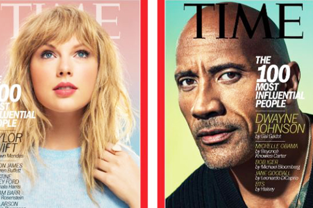 Тейлор Свифт, Дональд Трамп, Эмилия Кларк и другие: список самых влияетельных людей по версии Time
