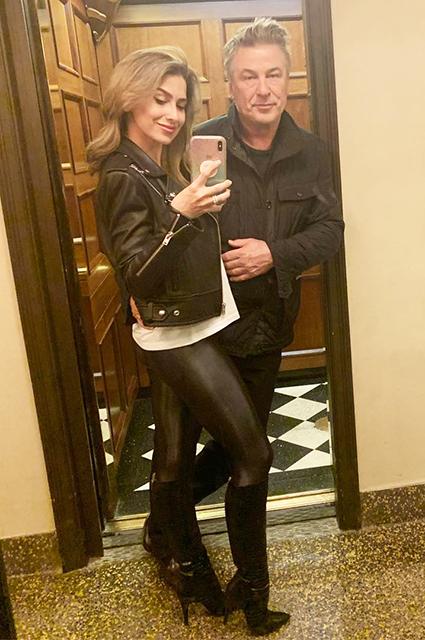 Хилария и Алек Болдуин
