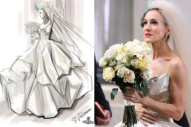 Видео дня: самые запоминающиеся свадебные платья из любимого кино