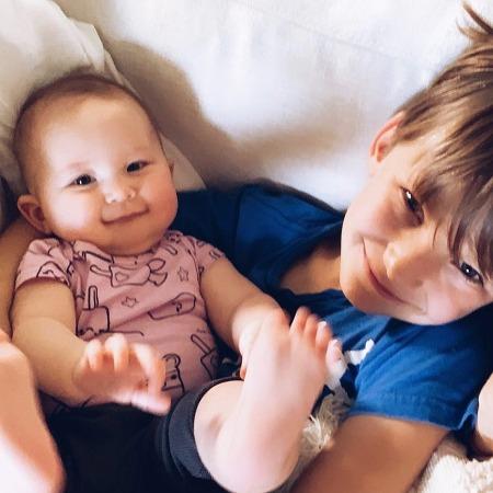 Сын Кейт Хадсон Бингэм и дочь
