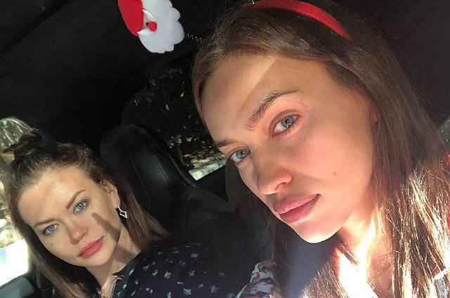 Ирина Шейк поздравила сестру с днем рождения