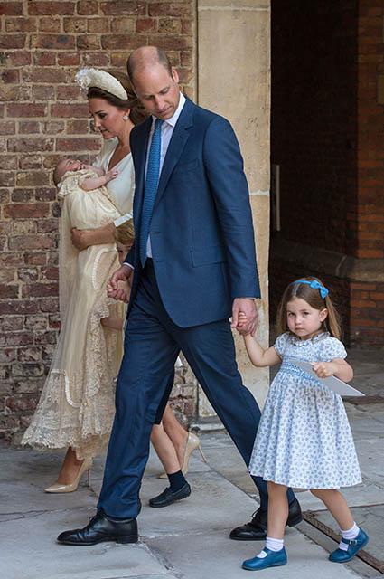 Принц Уильям и кейт Миддлтон с детьми: принцессой Шарлоттой, принцами Джорджем и Луи