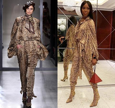 Модная битва: Тейлор Хилл против Наоми Кэмпбелл