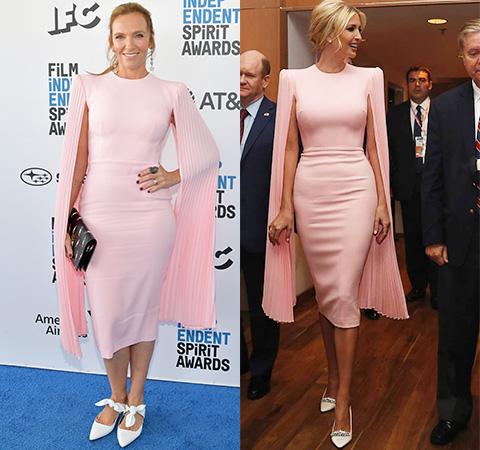 Битва платьев: Тони Колетт против Иванки Трамп