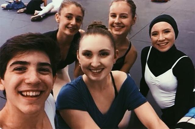 Стефани Курлоу в летней школе Датского королевского балета