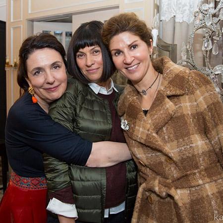 Катя Гердт (слева) и Альбина Назимова (справа)