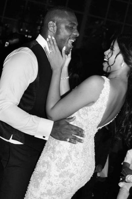 Идрис Эльба женился на модели Сабрине Доуре: первые фото со свадьбы