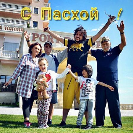 Филипп Киркоров с семьей