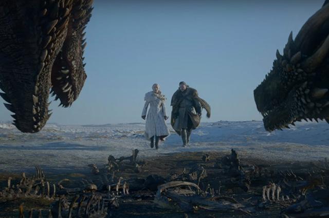 Драконы, мертвецы, Старки: в сети наконец-то появился первый трейлер восьмого сезона