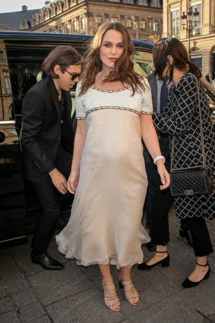 Кира Найтли беременна вторым ребенком