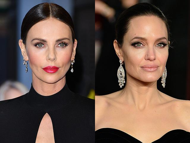 Шарлиз Терон прокомментировала слухи о многолетней вражде с Анджелиной Джоли
