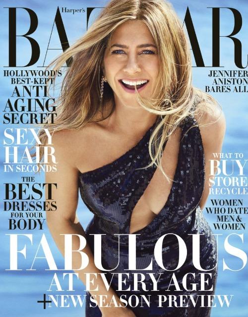 Дженнифер Энистон на страницах Harper's Bazaar: актриса рассказала об идеальном мужчине и возрасте
