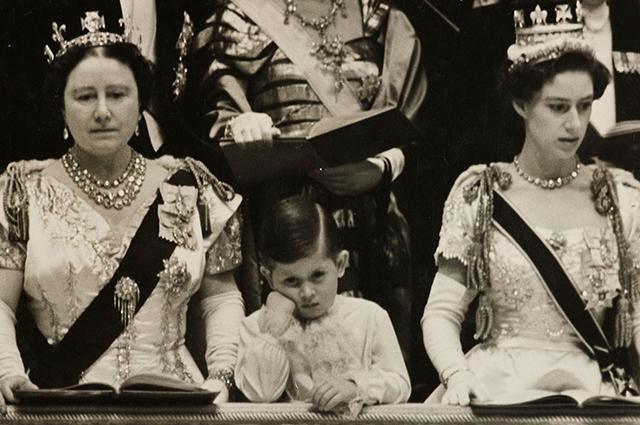 Королева Елизавета I, принц Чарльз, принцесса Маргарет