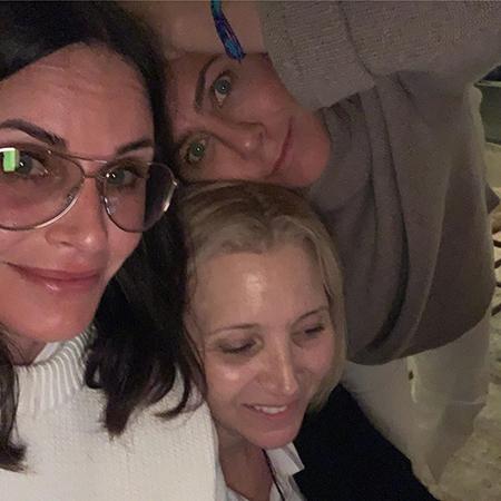 Дженнифер Энистон, Кортни Кокс, Лора Дерн, Дженнифер Мейер устроили девичник в День независимости США