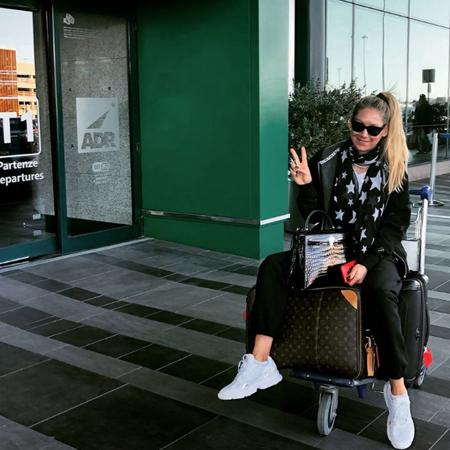 Анна Курникова и Энрике Иглесиас путешествуют по Италии