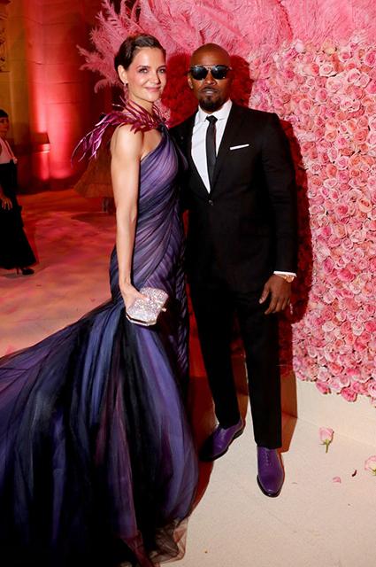 Бал Института костюма — 2019: Кэти Холмс и Джейми Фокс впервые появились вместе на Met Gala