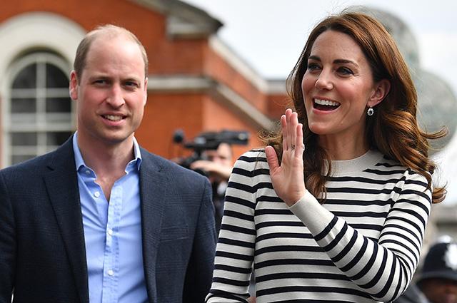 Кейт Миддлтон и принц Уильям впервые прокомментировали рождение племянника: свежие фото пары