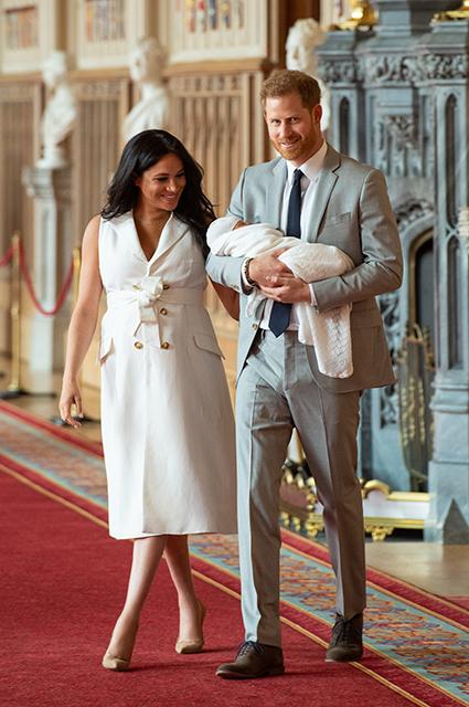 Меган Маркл и принц Гарри впервые рассказали о новорожденном сыне: «Гадаем, на кого из нас он похож больше»