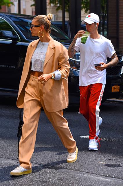 Будни Джастина Бибера и Хейли Болдуин: прогулки по Нью-Йорку и новые рабочие проекты