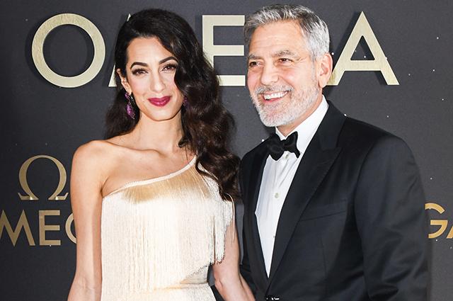 Гламурный выход: Амаль и Джордж Клуни на светской вечеринке в Орландо