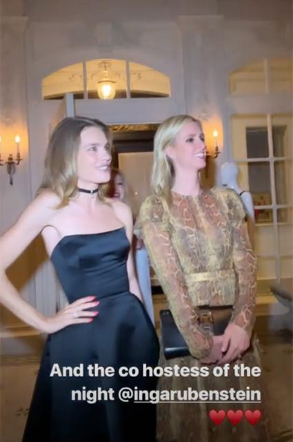 Наталья Водянова и Никки Хилтон