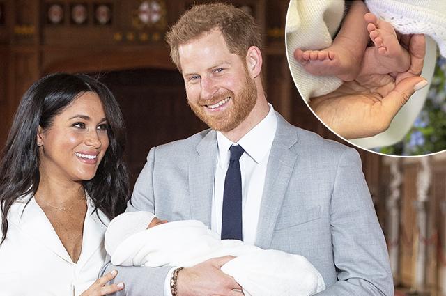 В сети появилось новое фото сына Меган Маркл и принца Гарри