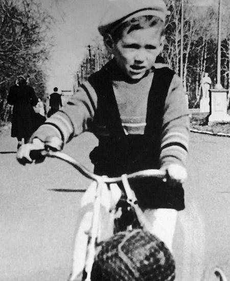 Сергей Доренко в детстве