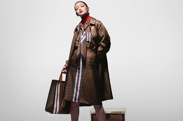 От сорванца до леди: Джиджи Хадид в разных образах снялась в новой кампании Burberry