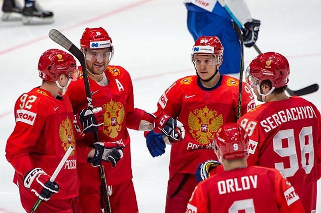Полный разгром: сборная России по хоккею одержала самую крупную победу в своей истории