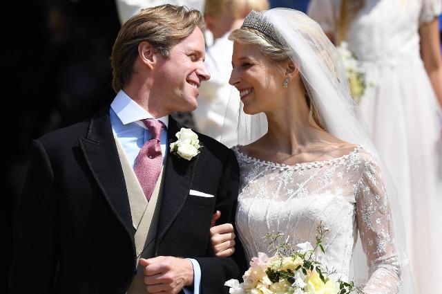 Двоюродная племянница Елизаветы II леди Габриэлла Виндзор вышла замуж