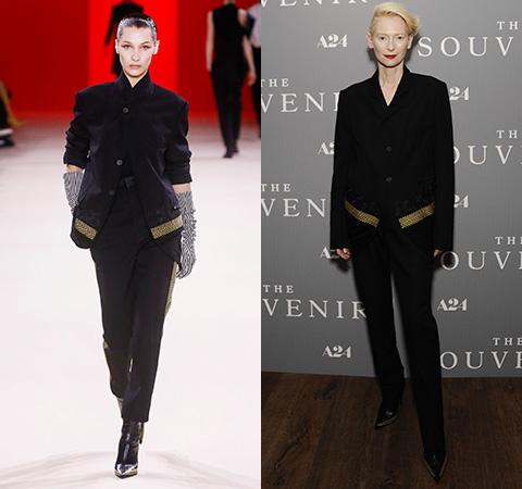 Модная битва: Белла Хадид против Тильды Суинтон