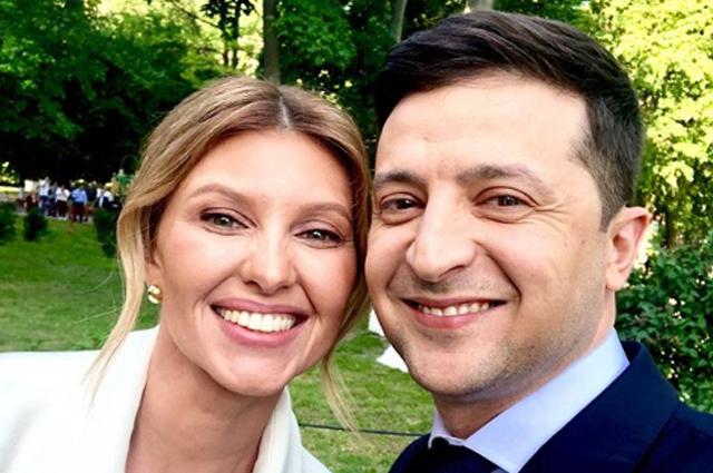 Первая леди Украины Елена Зеленская завела Instagram и опубликовала первые фото с инаугурации