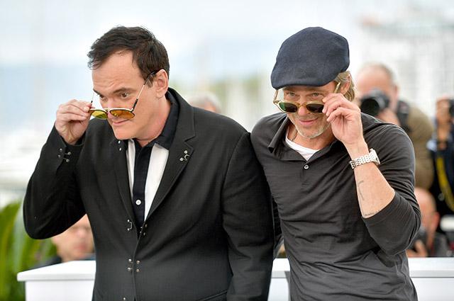 Канны-2019: Брэд Питт, Марго Робби и Леонардо ДиКаприо на фотоколле фильма Квентина Тарантино