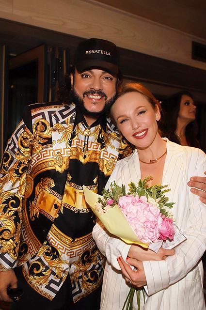Филипп Киркоров и Альбина Джанабаева