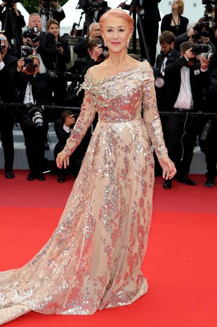 Хелен Миррен в платье от Elie Saab и украшениях от Chopard