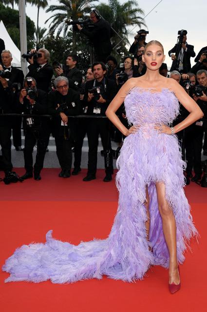 Эльза Хоск в платье от Alberta Ferretti и украшениях Nigora Tabayer